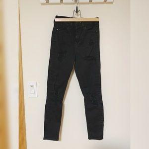 Topshop Jamie Super Ripped High Waist Skinny Jeans